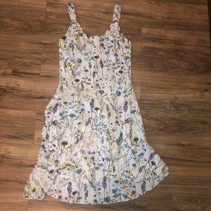Size 14 H&M watercolor floral sundress ADORABLE!